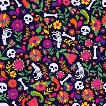 Dias de los muerto, wzór meksykańskiej fiesty
