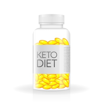 Dieta keto świetny projekt do dowolnych celów logo witaminy żywności dieta paleo koncepcja zdrowego odżywiania