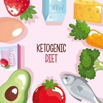 Dieta keto zawiera świeża żywność