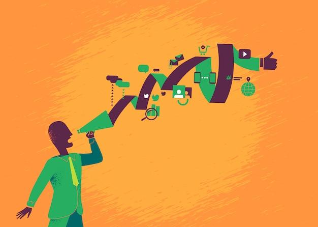 Digital_strategist uruchamia duże internetowe kampanie marketingowe