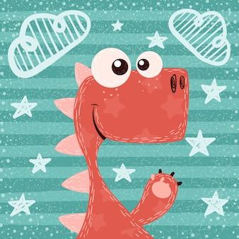 Dino ilustracji