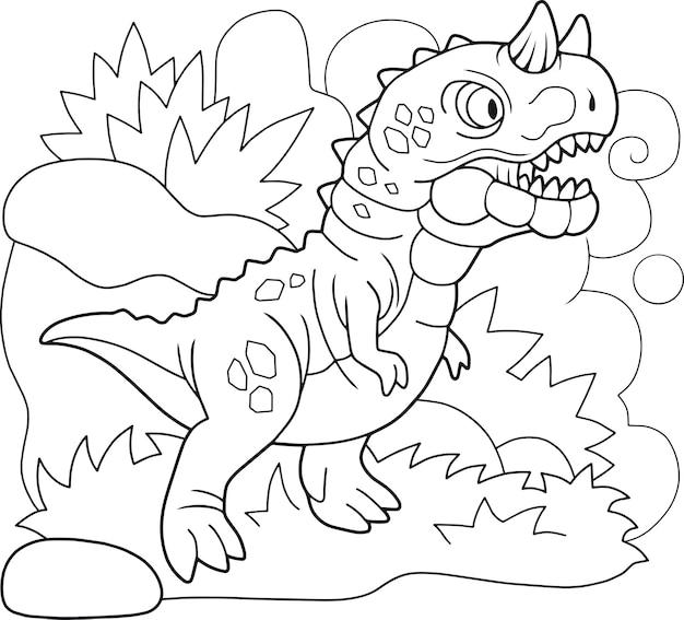 Dinozaur karnotaur