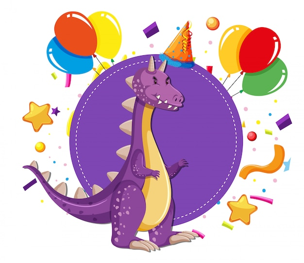 Dinozaur na imprezie