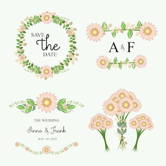 Diseño floral de boda