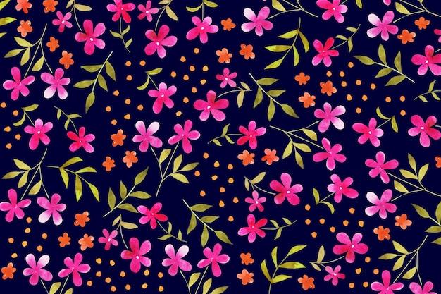 Ditsy tle kwiatów