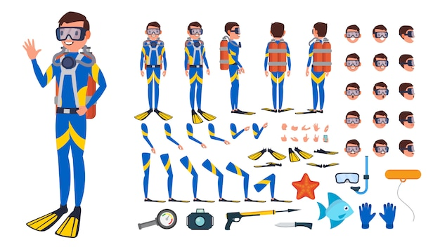 Diver man