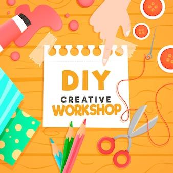 Diy kreatywne warsztaty