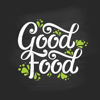 Dobra typografia jedzenia