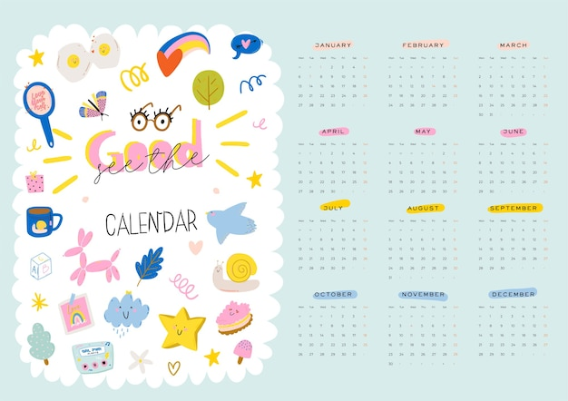 Dobry organizator i harmonogram na wszystkie miesiące