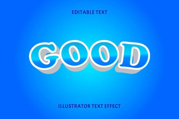 Dobry styl edytujny efekt tekstu