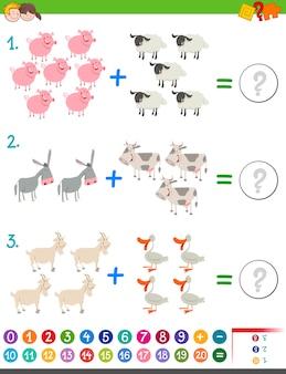 Dodawanie aktywności matematycznej dla dzieci