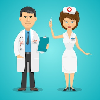 Doktor i pielęgniarka
