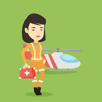 Doktor pogotowia lotniczego.