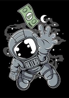Dolar astronauty