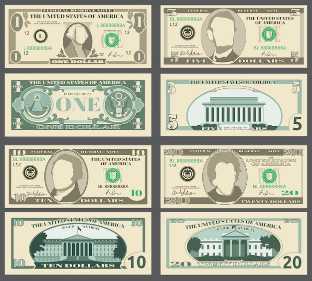 Dolarowe banknoty