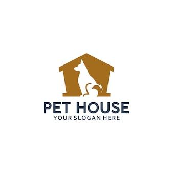 Dom dla zwierząt, inspiracja do projektowania logo