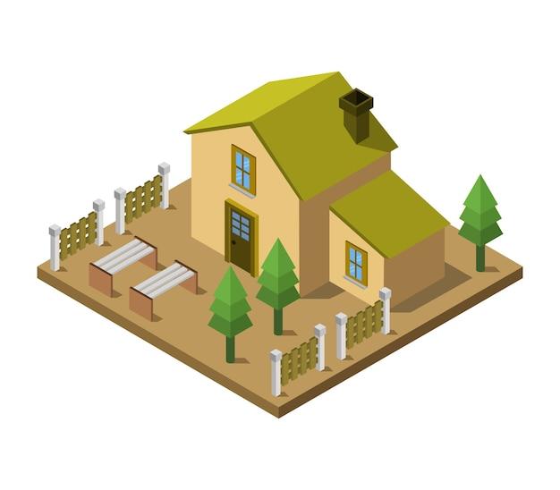 Dom izometryczny
