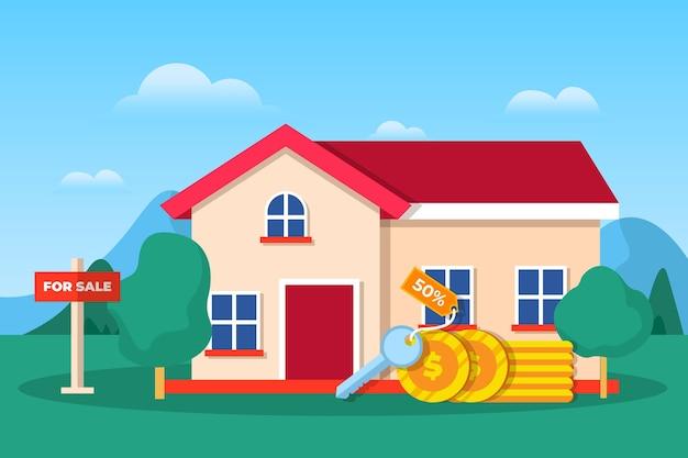 Dom na sprzedaż lub do wynajęcia
