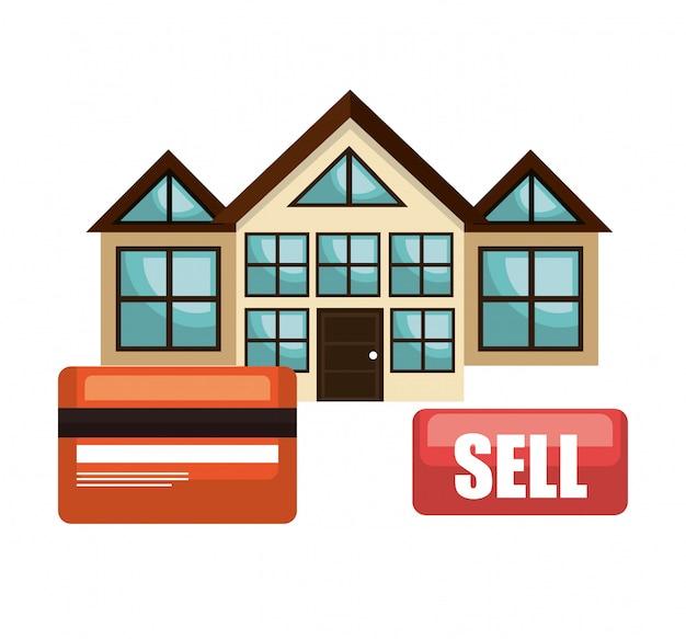 Dom nieruchomości sprzedać projekt biznesowy karty kredytowej