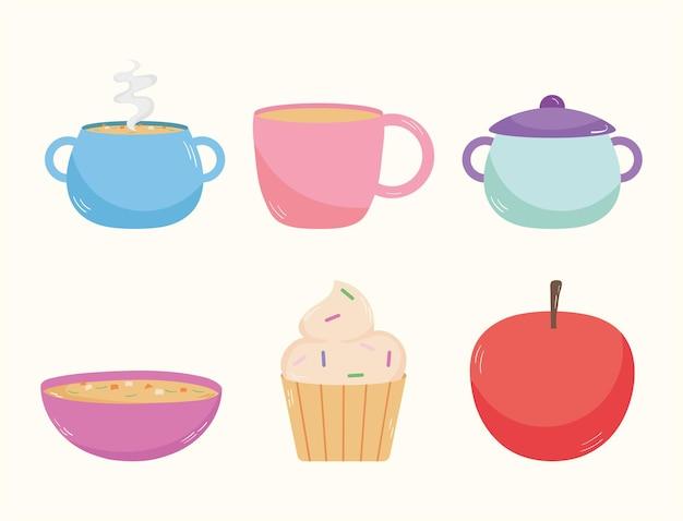 Domowa kolekcja ikon żywności