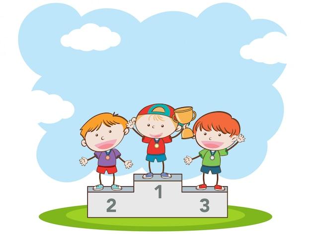 Doodle kids zwycięski konkurs sportowy