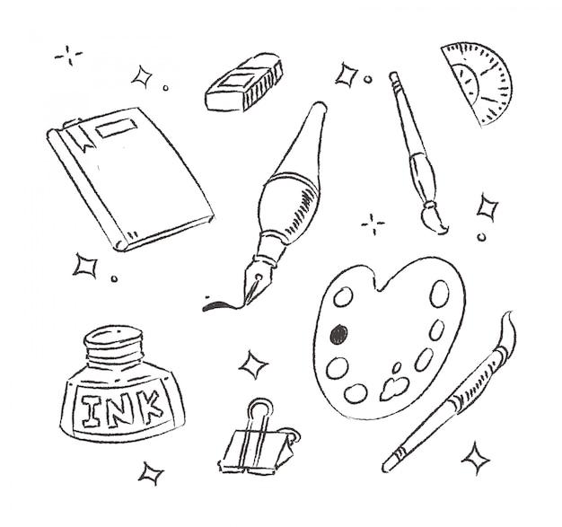 Doodle sprzęt do rysowania