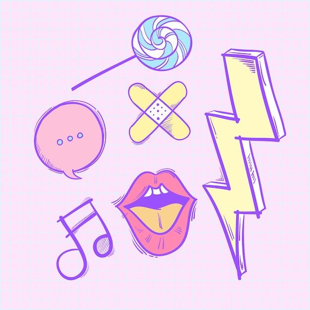 Doodles hipster