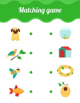 Dopasuj grę dla dzieci