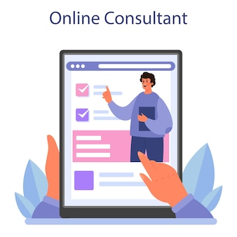 Doradztwo w serwisie lub platformie online