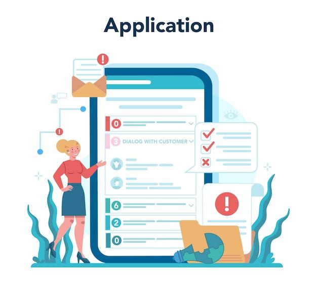 Doradztwo w zakresie usługi lub platformy online