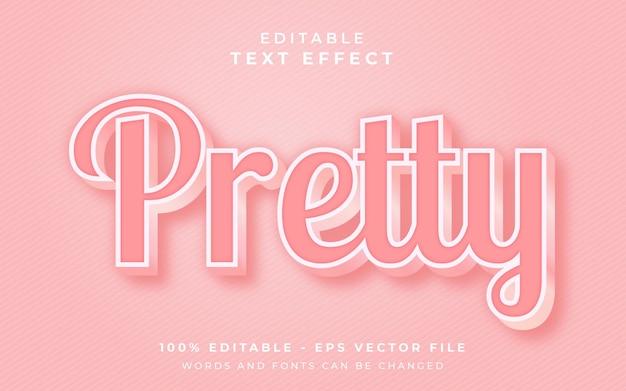 Dość edytowalny efekt tekstowy