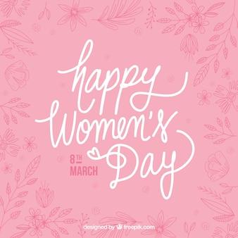 Dość rocznika kobieta dzień tła