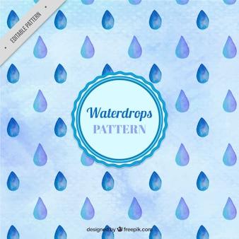 Dość wzór kropelek wody