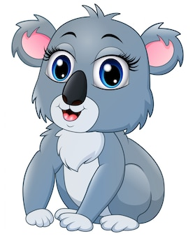 Dość zabawna kreskówka koala