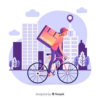 Dostawa rowerów
