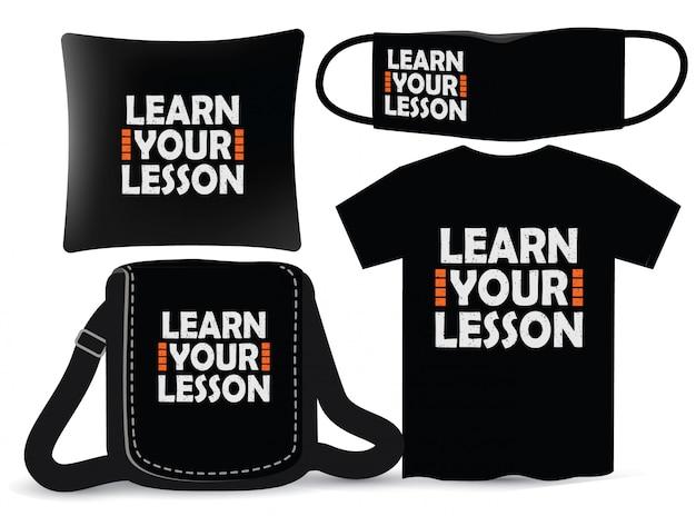 Dowiedz się, jak zaprojektować napis na lekcji do koszulki i merchandisingu