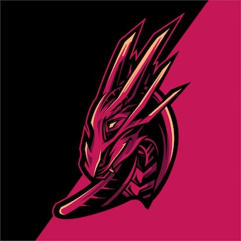 Dragon logo esport team
