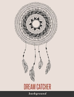 Dream catcher, boho, ethnic, tribal.