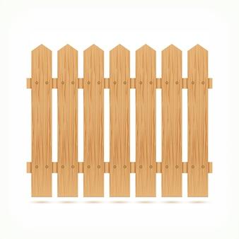 Drewniana płotowa płytka