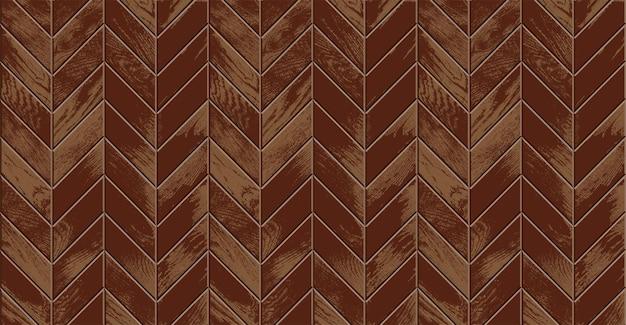 Drewniana podłoga, realistyczny parkiet w stylu vintage