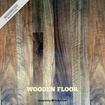 Drewniana podłoga z różnych barwach