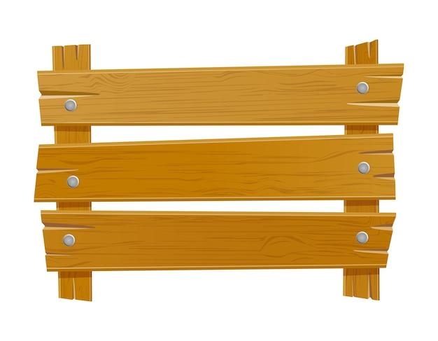 Drewniana stara deska na białym tle
