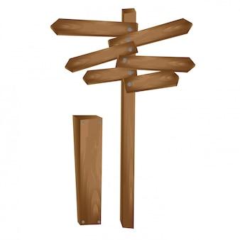 Drewniana strzała