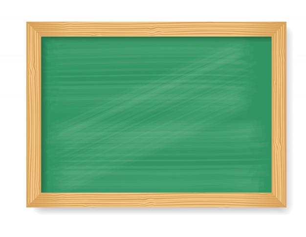 Drewniana tablica na białym tle