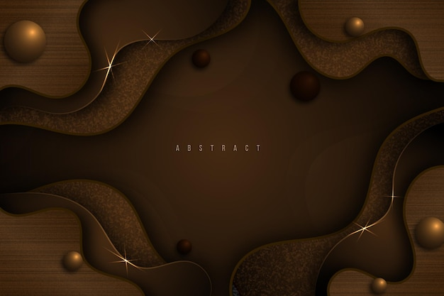 Drewniane eleganckie tło w kolorze