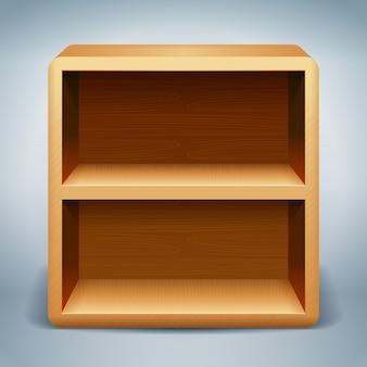 Drewniane półki tło
