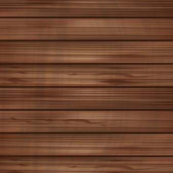 Drewniane puste tło wektor