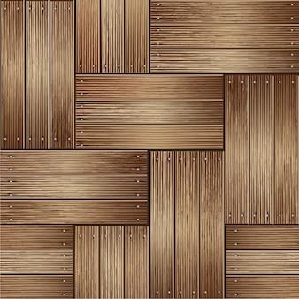 Drewniane tekstury tła. ilustrator wektor