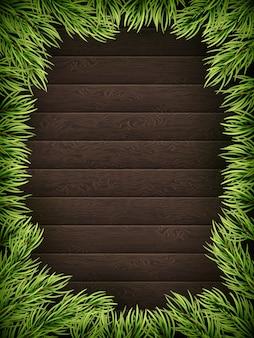 Drewniane tła z choinki jodły.