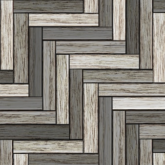Drewniany szary parkiet tło